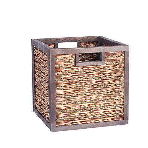 Household Essentials Seagree Wicker Storage Bin