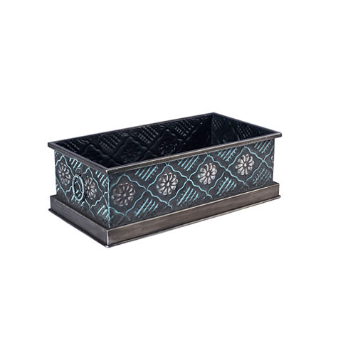 Household Essentials Metal Storage Bin