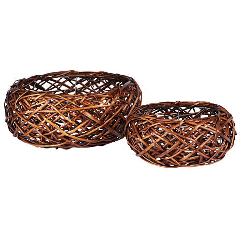 Household Essentials Birds Nest 2-pc. Basket