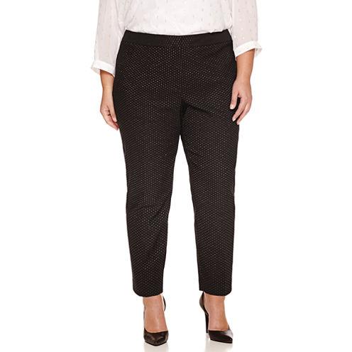 Liz Claiborne Ankle Pants Plus