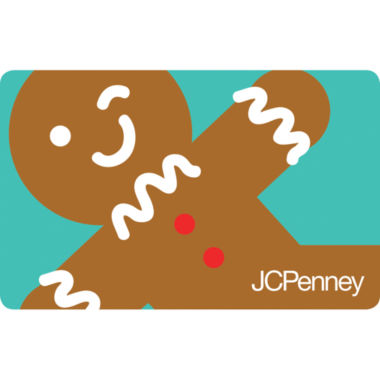 jcpenney.com | $100 Winky Gingerbread Gift Card