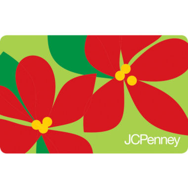 jcpenney.com | $10 Poinsettias Gift Card