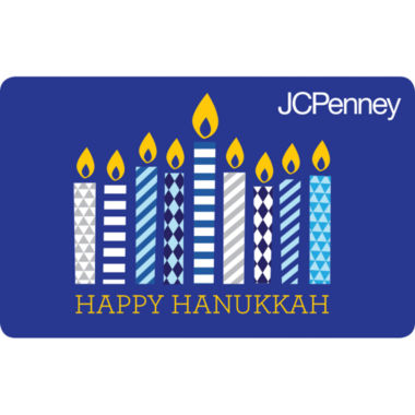 jcpenney.com | $200 Hanukkah Candles Gift Card