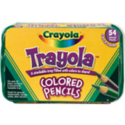 Crayola® Trayola™ 54-pk. Colored Pencils