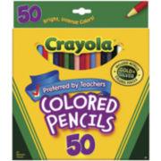 Crayola® 50-pk. Colored Pencils