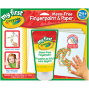 My First Crayola Mess-Free Fingerpaint & Paper Kit