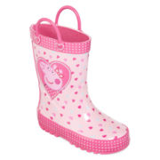 Peppa Pig Girls Rain Boots - Toddler