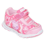 Peppa Pig Girls Athletic Shoes - Toddler