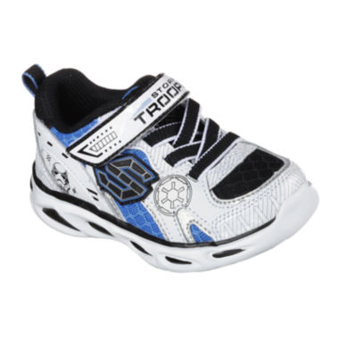 jcpenney.com | Star Wars™ Skechers Dynamo Stormtrooper™ Boys Athletic Shoes - Toddler