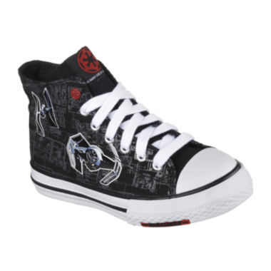 jcpenney.com | Star Wars™ Skechers Cayden Darth Vader™ Sith Lord Boys High-Top Shoes - Little Kids