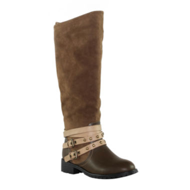 jcpenney.com | Olivia Miller Womens Riding Boots