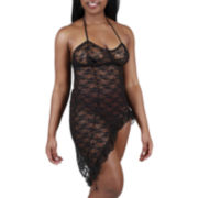Urban Intimates® Sleeveless Lace Nightgown - Plus