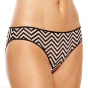 Ambrielle® Mesh Bikini Panties