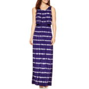 By Artisan Sleeveless Dip-Dyed Maxi Dress