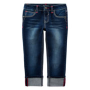 Vigoss® Cropped Jeans - Girls 7-14