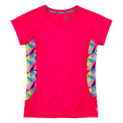 Xersion™ Pieced Trainer Tee - Girls 7-16 and Plus