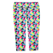 Xersion™ Core Performance Print Capris - Girls 7-16 and Plus