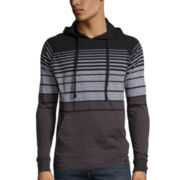 Burnside® Striped Pullover Jersey Hoodie