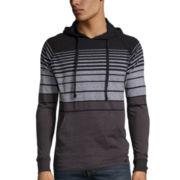 Burnside® Striped Pullover Jersey Hoodie