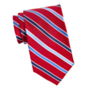 Stafford® Sign Cedric Stripe Silk Tie