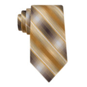 Van Heusen® Wellman Stripe Silk Tie - Extra Long