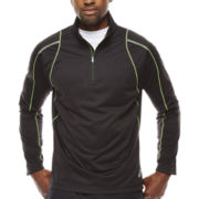 Asics® Long-Sleeve Mechanical Stretch Quarter-Zip Shirt