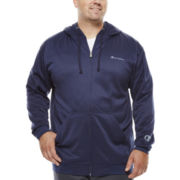 Champion® Zip-Front Fleece Hoodie - Big & Tall