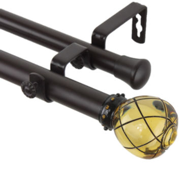 "jcpenney.com | Supreme 1"" Adjustable Double Curtain Rod"