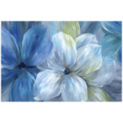 Morning Glory Canvas Wall Art