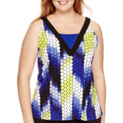 Worthington® Colorblocked Tank Top - Plus