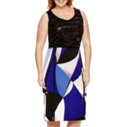 Worthington® Sequin Tank Top or Piped Pencil Skirt - Plus