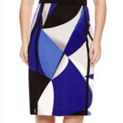 Worthington® Piped Pencil Skirt - Plus