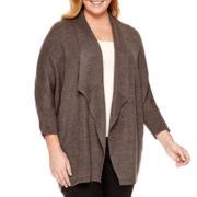 Worthington® Cocoon Cardigan Sweater - Plus