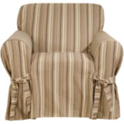 SURE FIT® Harbor Stripe 1-pc. Chair Slipcover
