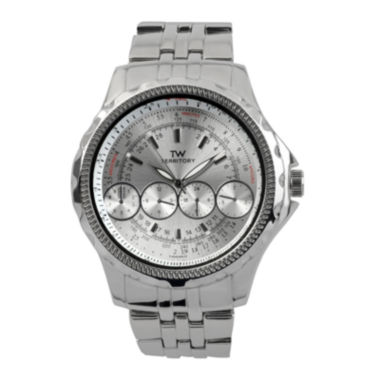 jcpenney.com | Territory Mens Stainless Steel Watch