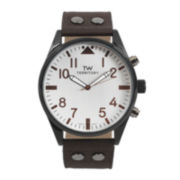 Territory Mens Canvas Strap Watch