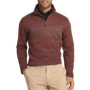 Van Heusen® Quarter-Zip Knit Pullover