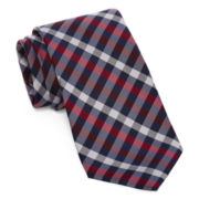 U.S. Polo Assn.® White Check Silk Tie
