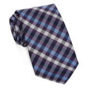 U.S. Polo Assn.® White Check Silk Tie