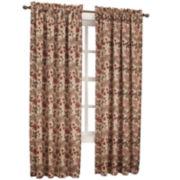 Sun Zero™ Fremont Room-Darkening Rod-Pocket Curtain Panel