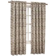 Sun Zero™ Emory Printed Folliage Room-Darkening Rod-Pocket Curtain Panel