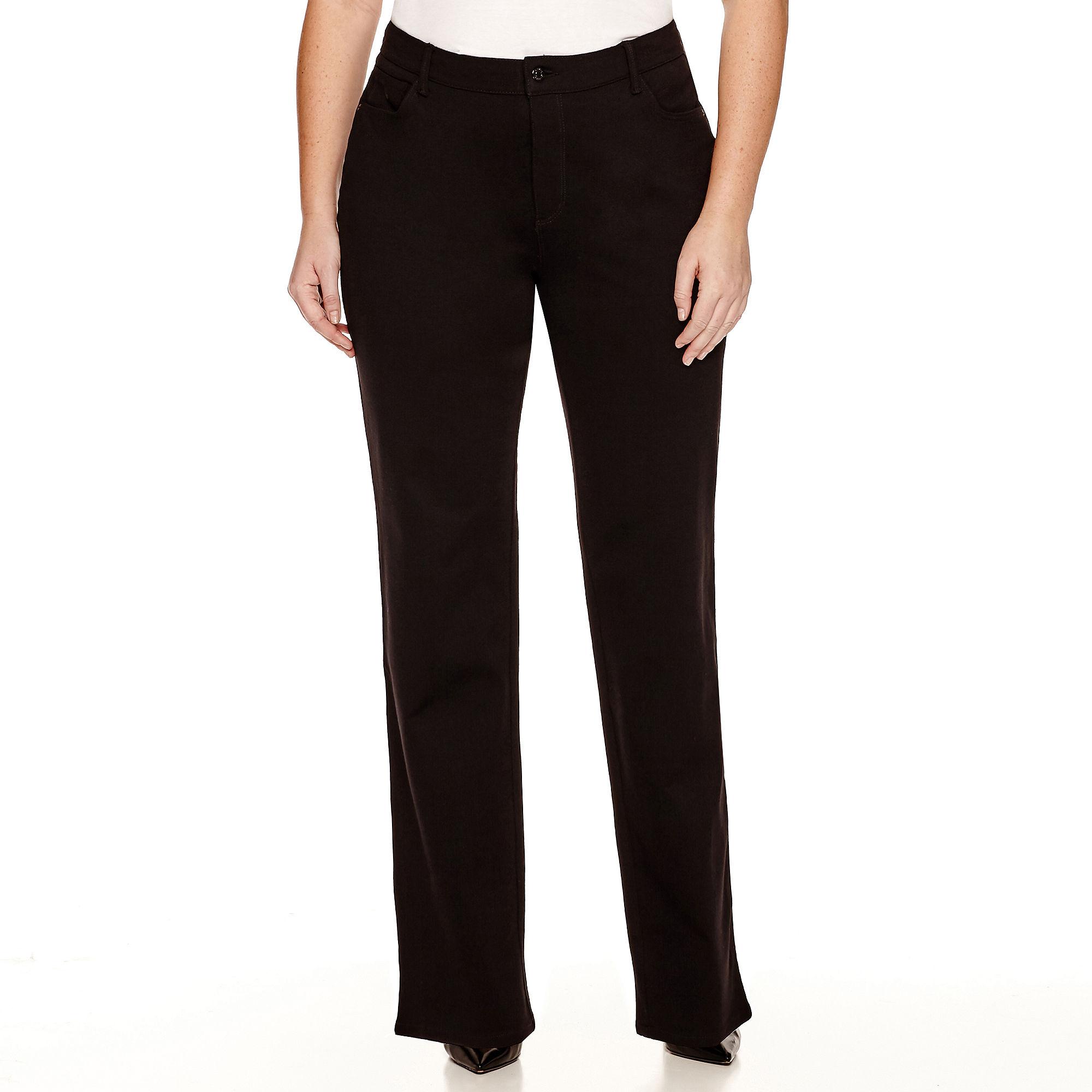 6d3e143475d73 ... UPC 787165739180 product image for Gloria Vanderbilt Amanda Ponte Pants  - Plus