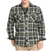 IZOD® Heavy Twill Sherpa Shirt Jacket