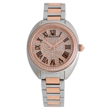 jcpenney.com | Croton Womens Two Tone Bracelet Watch-Cn207564ttrg