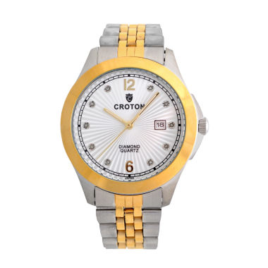jcpenney.com | Croton Mens Two Tone Bracelet Watch-Cn307562ttsd