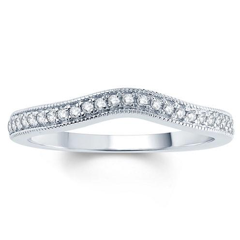 1/10 CT. T.W. White Diamond 10K Gold
