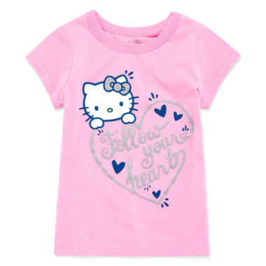 jcpenney.com | Hello Kitty Girls Hello Kitty Graphic T-Shirt-Toddler