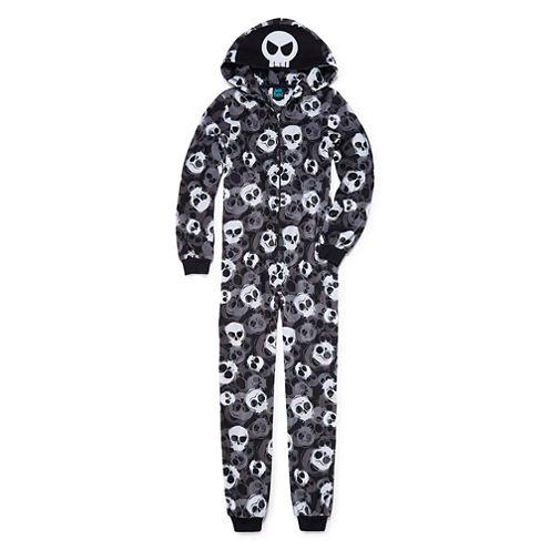 Jelli Fish Kids Long Sleeve One Piece Pajama-Big Kid Boys
