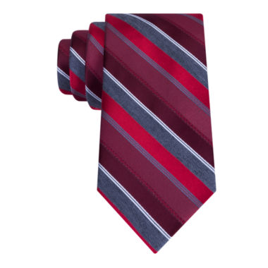 jcpenney.com | J.Ferrar Senior Heather Stripe XL Tie