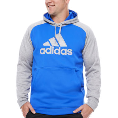 jcpenney.com | Adidas Long Sleeve Knit Hoodie Big and Tall